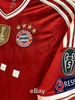 Fc Bayern Munich 2013/14 Home Shirt Trikot Jersey Maglia Muller Adidas