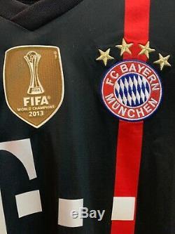 Fc Bayern Munich 2014/15 CL Shirt Jersey Trikot Maglia Lewandowski