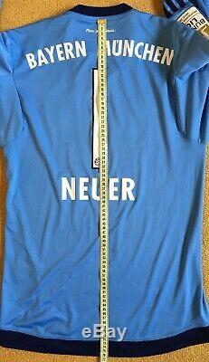 Fc Bayern Munich 2015\16 Gk Football Jersey Camiseta Soccer Shirt #1 Neuer