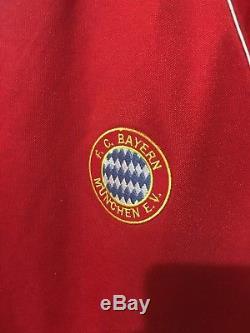 Fc Bayern Munich Germany 80's Football Shirt Jersey Trikot Vintage Adidas