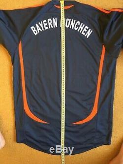 Fc Bayern Munich Goalkeeper 2006\2007 Football Jersey Shirt Signed Oliver Kahn