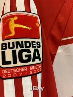 Fc Bayern Munich Home 2007/08 Shirt Jersey Trikot Maglia Van Bommel