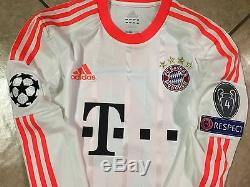 Fc bayern Munich Match Unworn Shirt Robben Holland Player Issue Techfit Jersey