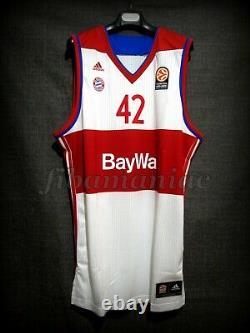 Fiba Maxi Kleber Bayern Munich Basketball Jersey Nba Mavericks