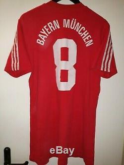 Football jersey FC Bayern Munchen 80er adidas L red