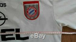 Football shirt soccer Bayern Munich Away 1995/1996/1997 Adidas jersey Scholl #7