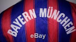Football shirt soccer Bayern Munich Home 1995/1996/1997 Vintage Adidas jersey M