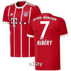 Franck Ribery Bayern Munich adidas 2017/18 Home Authentic Jersey
