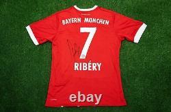 Franck Ribery Signed Bayern MUNICH JERSEY Genuine Signature AFTAL COA