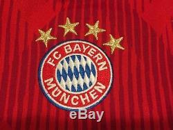 Genuine FC Bayern München LEWANDOWSKI #9 Jersey Kids Football Soccer Shirt
