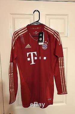 Germany Bayern Munich Player Issue Techfit Jersey Robben Ribery Lahm Era Shirt