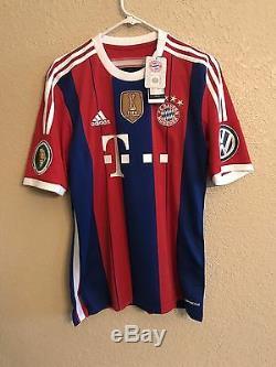 Germany Bayern Munich Schweinsteiger Shirt Chicago Fire Pokal Soccer Jersey