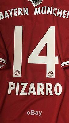 Germany FC bayern Munich Shirt S, M, L, XL Pizarro Peru Trikot jersey Fifa Club