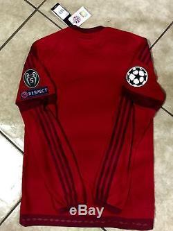 Germany Fc bayern Munchen Shirt Player Issue Adizero No Formotion Match Unworn