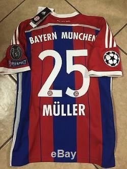 Germany Fc bayern Munich Muller jersey Adidas football Soccer shirt S, M, L, XL