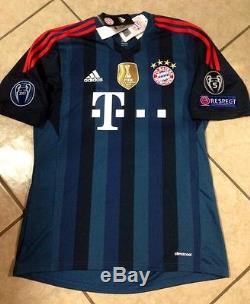 Germany Uefa FC bayern Munich Shirt Gotze Trikot jersey S, M, LG Fifa Club Patch