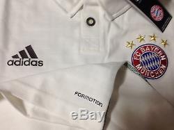 Germany bayern Munich 7 Player Issue Formotion Uefa Trikot Jersey football shirt
