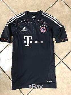 Germany bayern Munich Lahm Jersey Player Issue Techfit No Formotion Trikot shirt