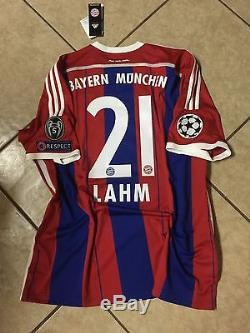 Germany bayern Munich Lahm S, M, LG, XL jersey original Adidas football shirt