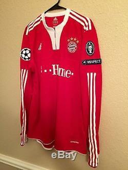 Germany bayern Munich Lahm Xl Player Issue Jersey Formotion Match Unworn Shirt