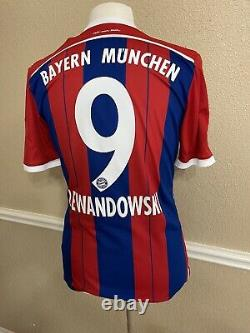Germany bayern Munich Lewandowski Poland 8 Player Issue Adizero Shirt jersey