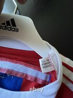 Germany bayern Munich Muller Player Issue Adizero Trikot Jersey Football shirt