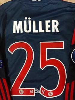 Germany bayern Munich Player Issue Formotion Muller Jersey Match Unworn shirt
