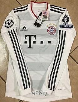 Germany bayern Munich Player Issue Formotion Robben MD, Lg Trikot Jersey shirt