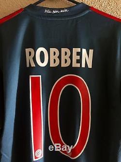 Germany bayern Munich Player Issue Robben Formotion Match Unworn Shirt jersey