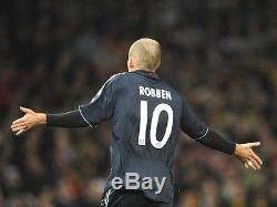 Germany bayern Munich Player Issue Robben Holland Formotion Match Jersey shirt