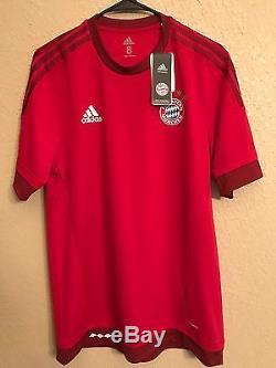Germany bayern Munich Player Issue Shirt 8 Adizero Football Match Unworn jersey