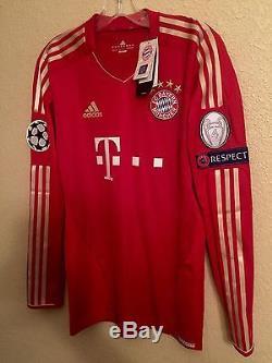 Germany bayern Munich Player Issue Techfit Shirt 6 Trikot Match Unworn jersey