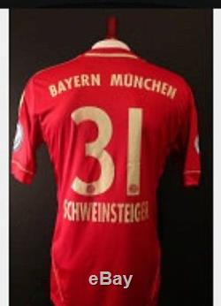 Germany bayern Munich Pokal Schweinsteiger S, M, L, XL jersey football shirt