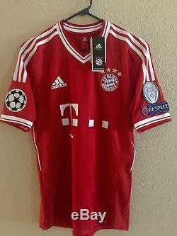 Germany bayern Munich Robben Player Issue Formotion Match Unworn Shirt jersey
