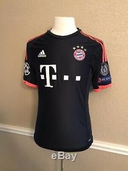 Germany bayern Munich Schweinsteiger 8 Player Issue Adizero Trikot Shirt jersey