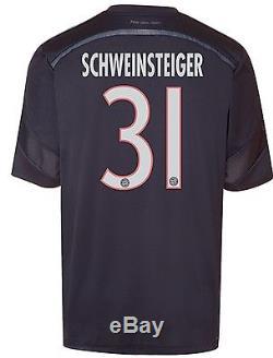 Germany bayern Munich Schweinsteiger S M L XL jersey Adidas football shirt