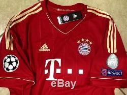 Germany bayern Munich Schweinsteiger S M LG XL jersey original football shirt