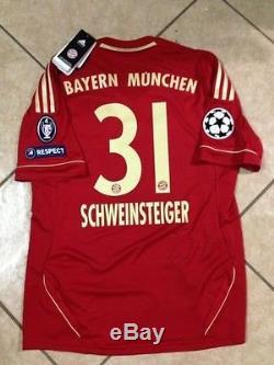 Germany bayern Munich Schweinsteiger S MD LG XL jersey original football shirt