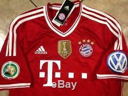 Germany bayern Munich Shirt Thomas Muller Small Trikot jersey Fifa Club Patch
