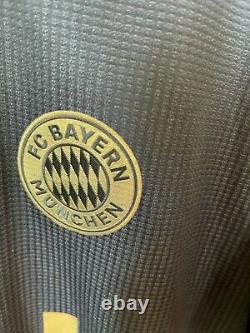 Gnabry Bayern Munich 2021/22 Away Jersey Authentic Soccer Football Trikot GM5312