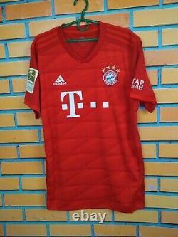 Gnabry Bayern Munich Jersey 2019/20 Home LARGE Shirt Football Adidas DW7410