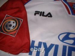 Hamburg SV Yeboah Shirt Jersey Trikot Fila XXL Football Soccer Vintage Top
