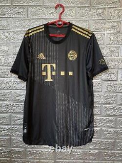 Hernandez Bayern Munich 2021/22 Away Large Jersey Authentic Soccer Trikot GM5312