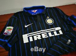 INTER MILAN home 2014/15 shirt PODOLSKI #11 -Bayern Munich-Germany-Trikot-Jersey