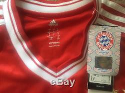Jersey Adidas Bayern Munich Jersey 2013-2014 Home Sz L