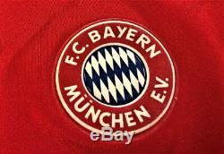Jersey Bayern Munich #10 Matthaus Champions League 1996 Autographed by Player