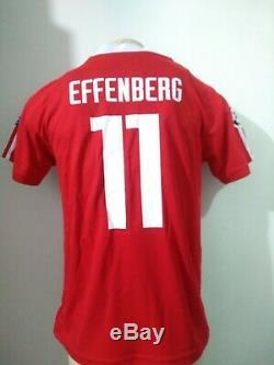 Jersey Bayern Munich #11 Stefan Effenberg Winner Champions League 2000-2001