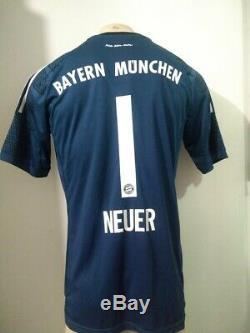 Jersey Bayern Munich Adidas #1 Manuel Neuer Player Version New With Tags