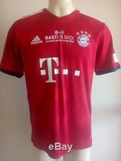 Jersey Bayern Munich Adidas Special Edition #31 Schweinsteiger New With Tags