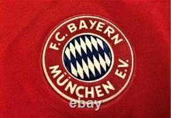 Jersey Bayern Munich Champions League 95 / 96 #10 Matthaus Signed by Player